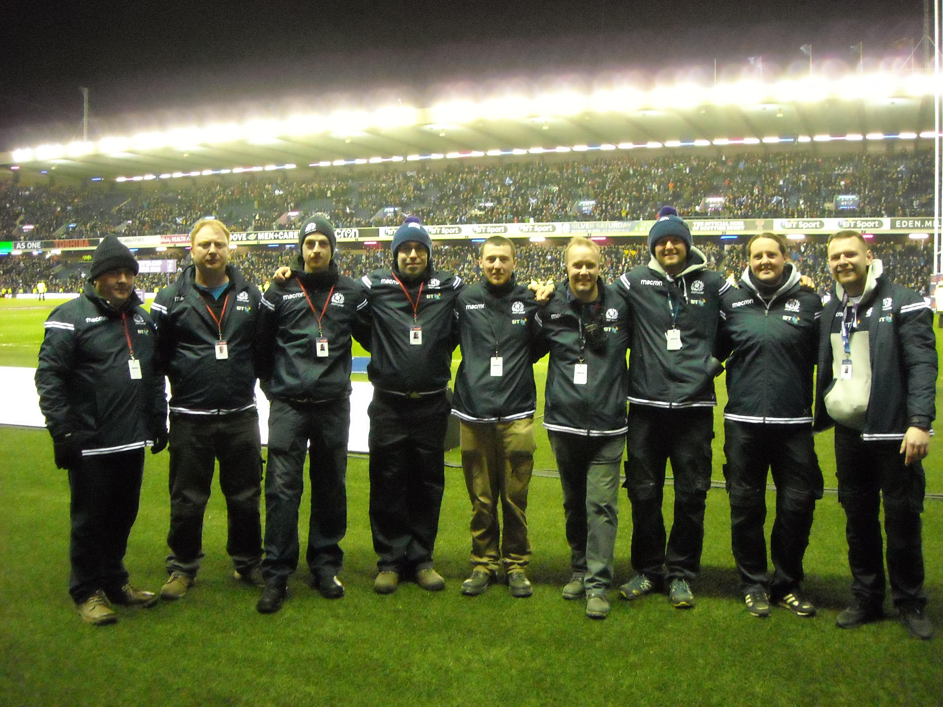 SALTEX College Cup winners enjoy Six Nations experience