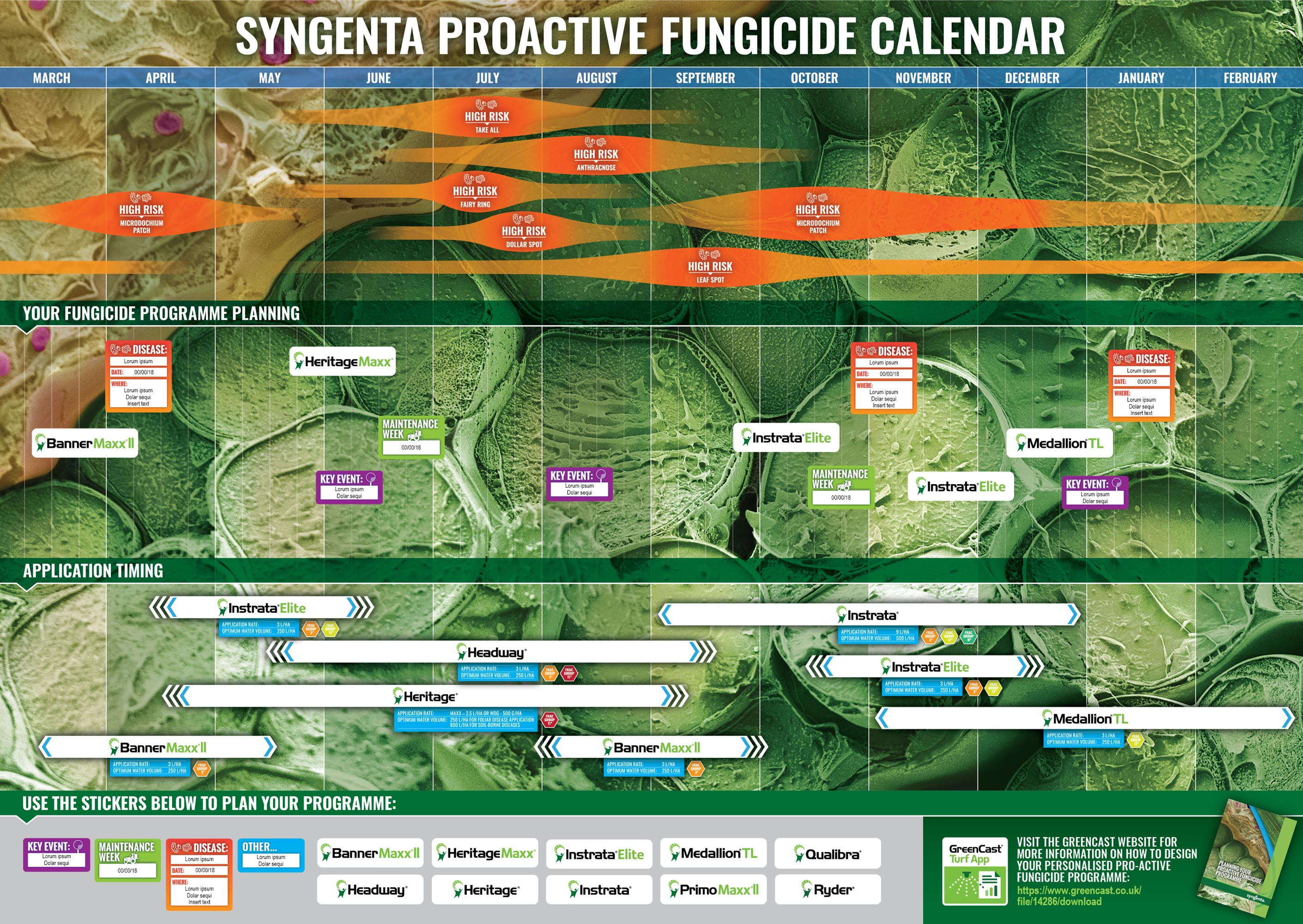 Digital download to plan your fungicide calendar