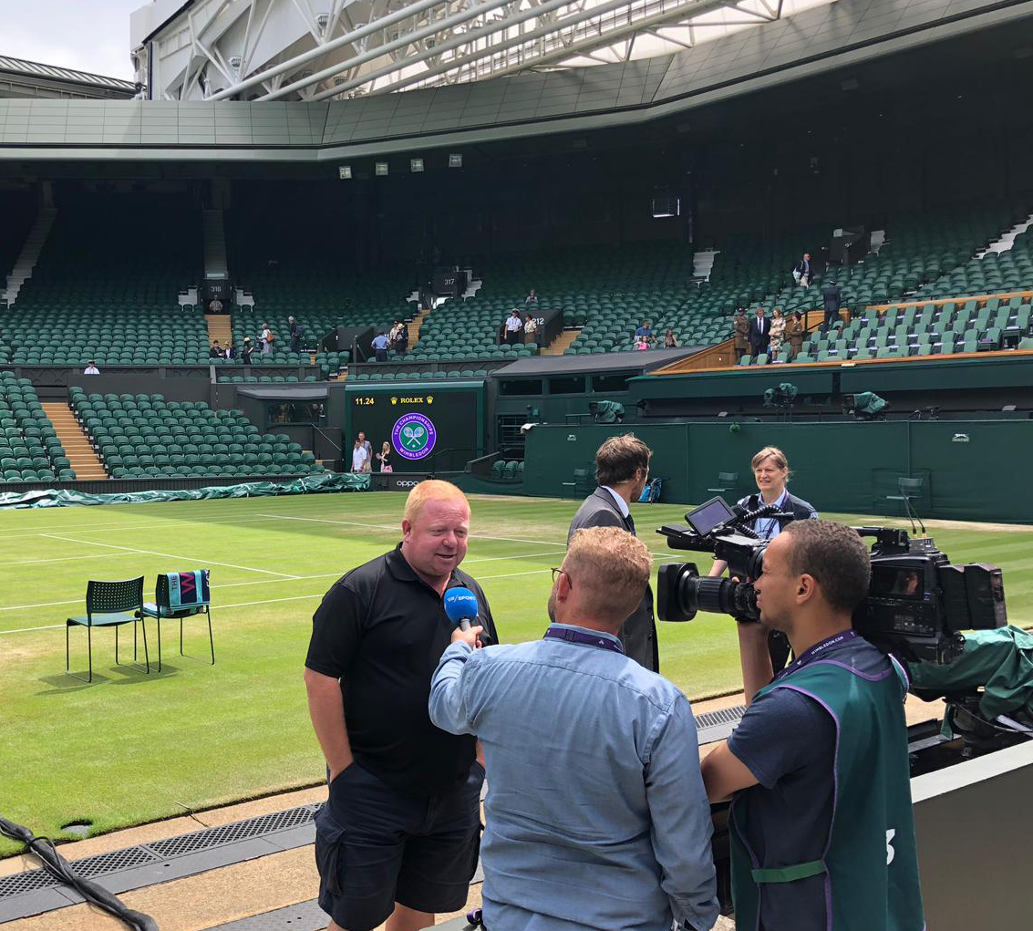 STRI at the Wimbledon Championships 2019