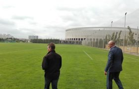 Russia 2018 LOC, FIFA and STRI conduct World Cup pitch inspection
