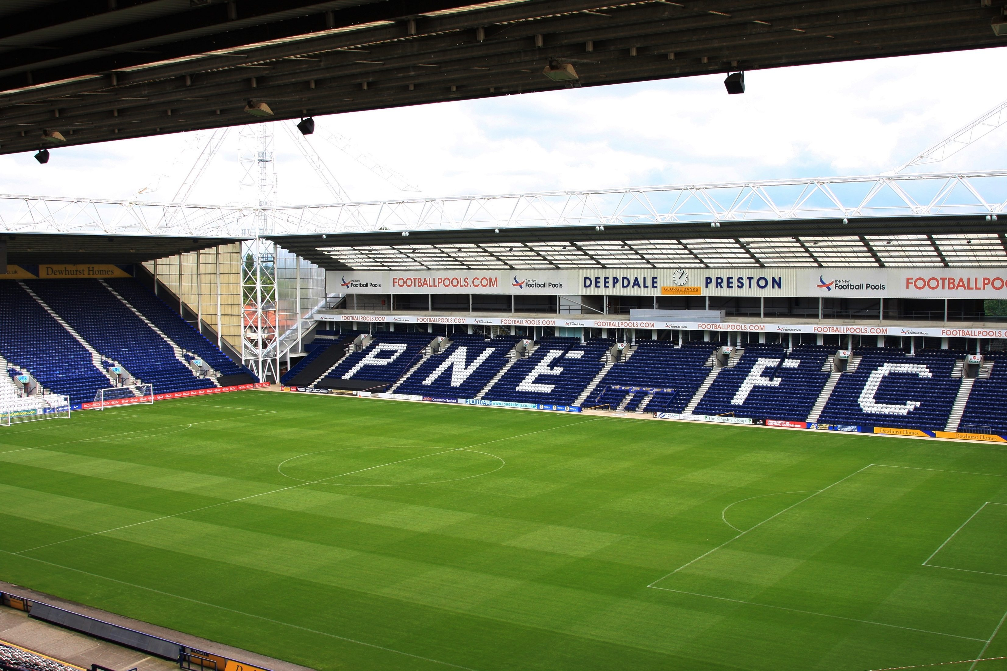 Image result for deepdale stadium