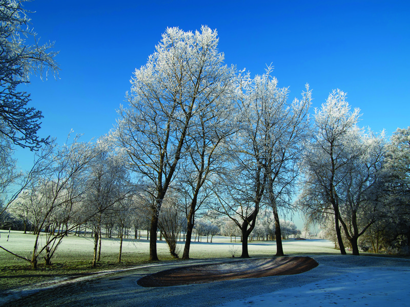 Top tips for managing frosty golf courses