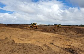STRI starts Blackpool Airport sports pitch complex