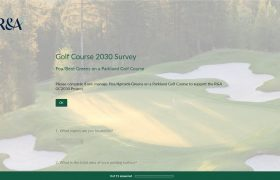 STRI launch golf survey for R&A Golf Course 2030