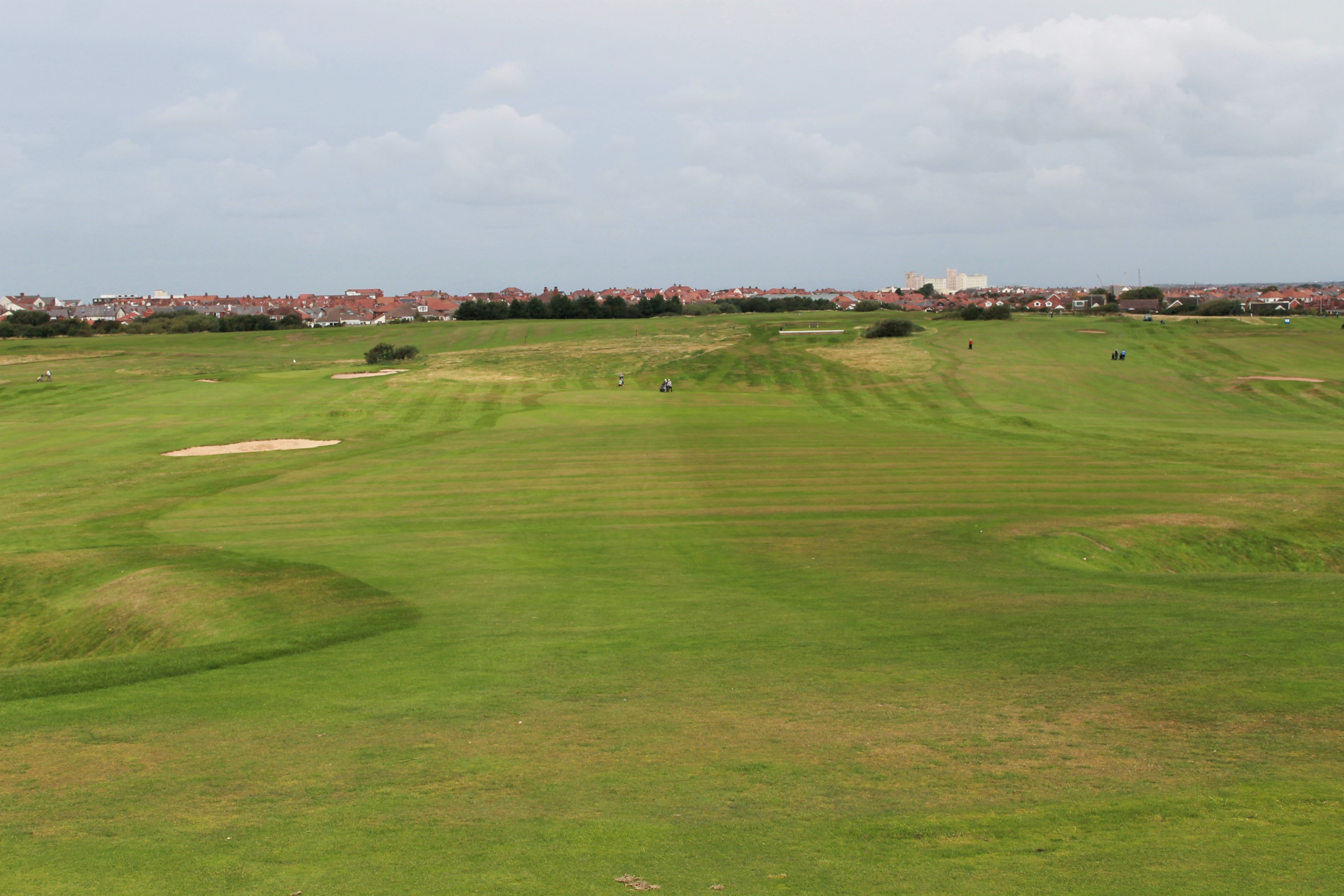 Greenmaster aids recovery at Blackpool North Shore Golf Club